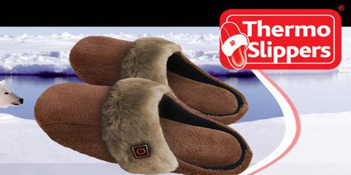 Thermo Slippers beheizbare Hausschuhe